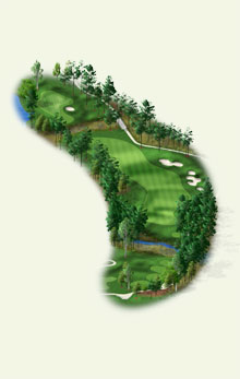 Overview of hole #1