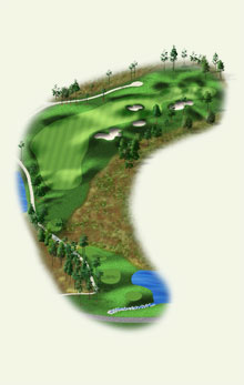 Overview of hole #10