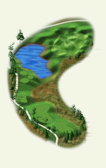 Overview of hole #11