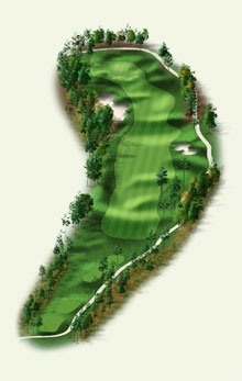 Overview of hole #12