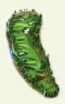 Overview of hole #13