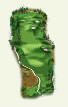 Overview of hole #15