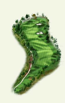 Overview of hole #16