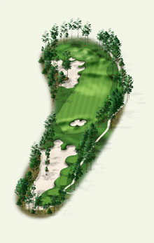 Overview of hole #4