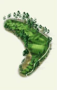Overview of hole #5