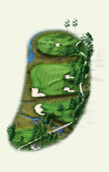 Overview of hole #6