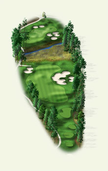 Overview of hole #9